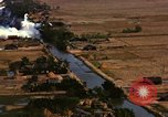 Image of Viet Cong huts bombed Soc Trang Vietnam, 1965, second 10 stock footage video 65675054877