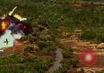 Image of target areas bombed Vietnam, 1965, second 10 stock footage video 65675054886