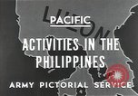 Image of Philippines Campaign Luzon Island Philippines, 1945, second 7 stock footage video 65675054920