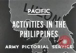 Image of Philippines Campaign Luzon Island Philippines, 1945, second 8 stock footage video 65675054920