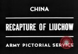 Image of Chinese recapture Liuchow Liuchow China, 1945, second 1 stock footage video 65675054935