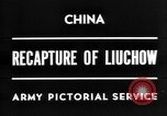 Image of Chinese recapture Liuchow Liuchow China, 1945, second 2 stock footage video 65675054935