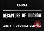 Image of Chinese recapture Liuchow Liuchow China, 1945, second 4 stock footage video 65675054935