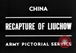Image of Chinese recapture Liuchow Liuchow China, 1945, second 5 stock footage video 65675054935