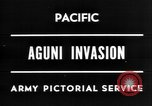 Image of invasion of Aguni Okinawa Ryukyu Islands, 1945, second 2 stock footage video 65675054936