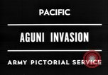 Image of invasion of Aguni Okinawa Ryukyu Islands, 1945, second 6 stock footage video 65675054936