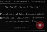 Image of Herbert Hoover Arlington Virginia USA, 1929, second 5 stock footage video 65675054942