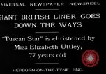 Image of Tuscan Star United Kingdom, 1929, second 6 stock footage video 65675054950