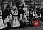 Image of Mayor's wedding Mezokovesd Hungary, 1929, second 5 stock footage video 65675054953