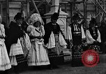 Image of Mayor's wedding Mezokovesd Hungary, 1929, second 7 stock footage video 65675054953