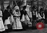 Image of Mayor's wedding Mezokovesd Hungary, 1929, second 9 stock footage video 65675054953