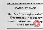 Image of fire engine sedan Paris France, 1930, second 3 stock footage video 65675054960