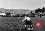 Image of athletic events Braemar Scotland, 1930, second 12 stock footage video 65675054961