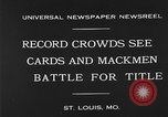 Image of 1930 World Series baseball game 4 Saint Louis Missouri USA, 1930, second 1 stock footage video 65675054963