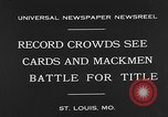 Image of 1930 World Series baseball game 4 Saint Louis Missouri USA, 1930, second 6 stock footage video 65675054963