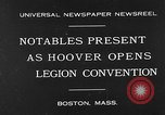 Image of American Legion Convention Boston Massachusetts USA, 1930, second 1 stock footage video 65675054965