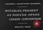 Image of American Legion Convention Boston Massachusetts USA, 1930, second 2 stock footage video 65675054965