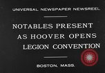Image of American Legion Convention Boston Massachusetts USA, 1930, second 3 stock footage video 65675054965