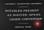 Image of American Legion Convention Boston Massachusetts USA, 1930, second 4 stock footage video 65675054965