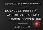 Image of American Legion Convention Boston Massachusetts USA, 1930, second 5 stock footage video 65675054965