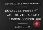 Image of American Legion Convention Boston Massachusetts USA, 1930, second 6 stock footage video 65675054965