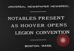 Image of American Legion Convention Boston Massachusetts USA, 1930, second 7 stock footage video 65675054965