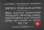 Image of home-made diving bell New Jersey United States USA, 1930, second 1 stock footage video 65675054966