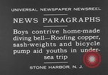 Image of home-made diving bell New Jersey United States USA, 1930, second 2 stock footage video 65675054966