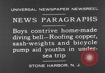 Image of home-made diving bell New Jersey United States USA, 1930, second 4 stock footage video 65675054966
