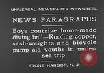 Image of home-made diving bell New Jersey United States USA, 1930, second 6 stock footage video 65675054966