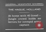 Image of lions The Hague Netherlands, 1930, second 3 stock footage video 65675054969