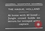 Image of lions The Hague Netherlands, 1930, second 4 stock footage video 65675054969
