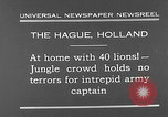 Image of lions The Hague Netherlands, 1930, second 5 stock footage video 65675054969