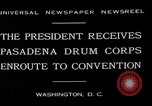 Image of Pasadena Drum Corps Washington DC USA, 1930, second 8 stock footage video 65675054974