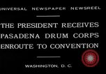 Image of Pasadena Drum Corps Washington DC USA, 1930, second 9 stock footage video 65675054974