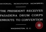 Image of Pasadena Drum Corps Washington DC USA, 1930, second 10 stock footage video 65675054974