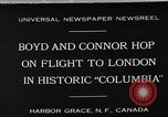 "Image of Aircraft ""Columbia"" Newfoundland, 1930, second 1 stock footage video 65675054975"