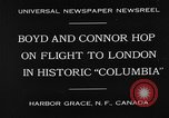"Image of Aircraft ""Columbia"" Newfoundland, 1930, second 2 stock footage video 65675054975"