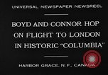 "Image of Aircraft ""Columbia"" Newfoundland, 1930, second 6 stock footage video 65675054975"