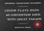 Image of American Legion Convention Boston Massachusetts USA, 1930, second 1 stock footage video 65675054976