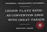 Image of American Legion Convention Boston Massachusetts USA, 1930, second 9 stock footage video 65675054976