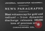 Image of dynamite blast Colorado United States USA, 1930, second 5 stock footage video 65675054978
