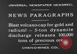 Image of dynamite blast Colorado United States USA, 1930, second 6 stock footage video 65675054978