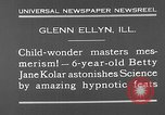Image of rabbit hypnotized Glen Ellyn Illinois USA, 1930, second 4 stock footage video 65675054980