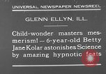 Image of rabbit hypnotized Glen Ellyn Illinois USA, 1930, second 11 stock footage video 65675054980