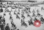 Image of annual motorcycle race Berlin Germany, 1930, second 10 stock footage video 65675054985