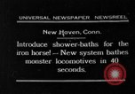 Image of shower bath for trains New Haven Connecticut USA, 1931, second 1 stock footage video 65675054989