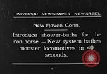 Image of shower bath for trains New Haven Connecticut USA, 1931, second 2 stock footage video 65675054989
