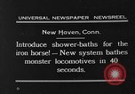 Image of shower bath for trains New Haven Connecticut USA, 1931, second 3 stock footage video 65675054989