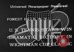 Image of Wight Cup Classic Tournament Forest Hills New York USA, 1933, second 1 stock footage video 65675054996
